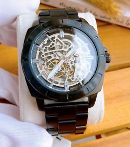 Fossil Automatic Mechanical Men's Watch Black BQ2426