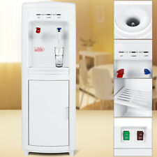 Top Loading Water Cooler Dispenser Freestanding  5 Gallon with Storage Cabinet