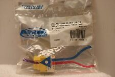 AMP Netconnect RJ45 Quantum Yellow Jack 1116048-8 *Sealed Package*