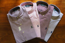 XL Check Button Cuff Formal Shirts for Men