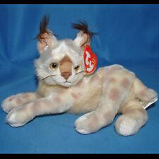 Ty Beanie Baby Tracks - MWMT (Cat Lynx 2001)