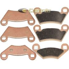 FITS POLARIS OUTLAW 525 IRS 2008 2011 SINTERED FRONT & REAR BRAKE PADS