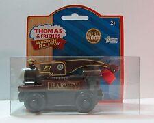 THOMAS THE TANK ENGINE & FRIENDS -WOODEN HARVEY **NIB**2011*YELLOW LABEL BOX**