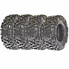 SunF A033 ATV Tires 25x8-12 & 25x10-12, 6PLY Front & Rear Set of 4