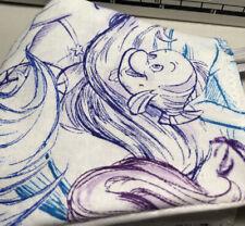 Rare Disney Little Mermaid Sketch Adult Face Mask