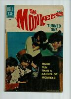 THE MONKEES #12 1968  SILVER AGE COMIC PHOTO COVER