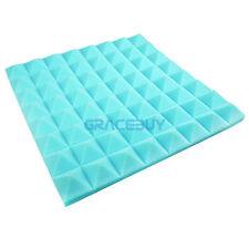 12Pcs Acoustic Soundproofing Foam Tiles Studio Recording Wall Absorption Foams