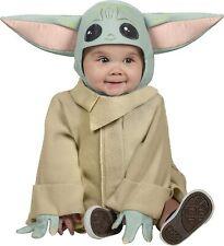 The Child Star Wars Mandalorian Baby Yoda Fancy Dress Halloween Child Costume