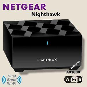 New Netgear Nighthawk AX1800 WiFi 6 Dual Band MS60 Mesh Add On Satellite 1 Pack