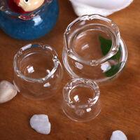 Casa de Muñecas Miniatura Pecera de vidrio Transparente Decoración Jugue_es