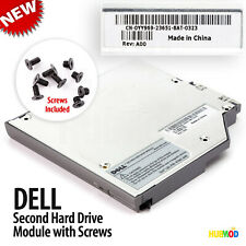Genuine DELL 2nd IDE HDD Hard Drive Caddy Media Bay Latitude D800 D810 D820 D830