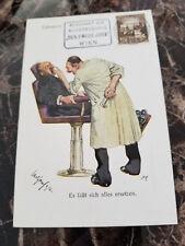 1938 Vienna Germany Postcard Cover Eternal Jew Exhibit Cancel Judaica Dentist