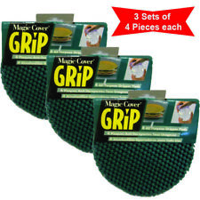 Magic Cover Grip, 4 pcs All-purpose gripper pads Coasters. Lid Opener. (3 Sets)