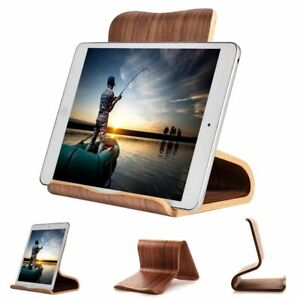 Tablet & Handy Ständer: Halterung Station Holzständer Samsung Apple Acer Asus