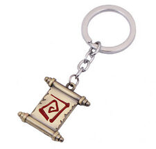 New Dota 2 Town Portal Scroll Alloy Keychain Pendant Collection Good Gift