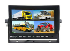 """17,9 cm 7"""" LCD TFT MONITOR Rückfahrsystem Split 4 Splitter Quad Multiplexer 4Pin"""