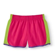 Fuchsia / Lime  Kid's Girl's Shorts - Size 14-16