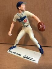 "vtg Dodgers #55 Orel Hershiser Pitching Stance Figure 7.5"" molded collectible"