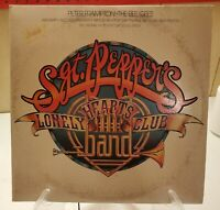 Sgt. Pepper's Lonely Hearts Club Band Movie Soundtrack Vinyl First Pressing 1978
