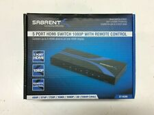 Sabrent 5-Port HDMI Switch 1080P w/Remote Control