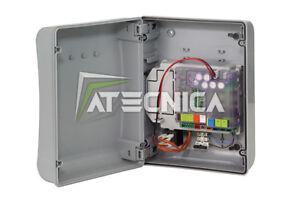 Central Automatización faac E024 S E024S 790286 Electrónica De Control 2 Puertas