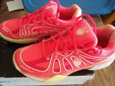 K Swiss Sneakers Womens 9 1/2 Ultra Express Neon Red/White Tennis with Box