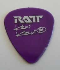 Keri Kelli Ratt Purple Tour Concert Issued Guitar Pick