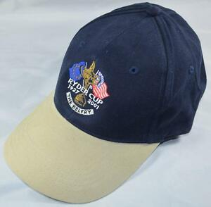 New 2001 RYDER CUP (The Belfry) Navy/ Stone GOLF HAT