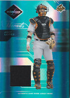 2005 Leaf Limited Threads Jersey Prime #35 Javy Lopez Patch #/100