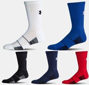 Under Armour Team Crew Socks, Youth (shoe size 1-4), Athletic Socks, U4561, NEW!