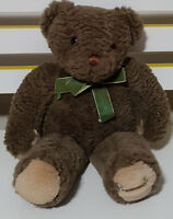 HARRODS PROMOTIONAL TEDDY BEAR PLUSH TOY! SOFT TOY ABOUT 21CM SEATED SOUVENIR!