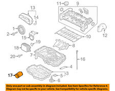 VW VOLKSWAGEN OEM 13-17 Jetta-Engine Oil Filter 04E115561H