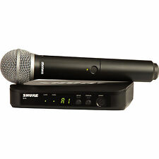 Shure BLX24/PG58 H10 Wireless System with PG58 Handheld Microphone