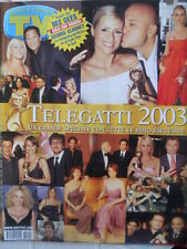 TV Sorrisi e Canzoni n°21 2003 Claudio Baglioni Ricky Martin - telegatti 03 [D7]