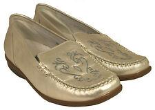 Ladies 'paso en Zapatos Waldlaufer 431001 marfil tamaño de Reino Unido 8 E Montaje
