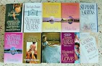 # 3 = 10 STEPHANIE LAURENS HISTORICAL ROMANCE BOOKS NO DOUBLES FREE SHIPPING