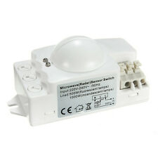 500W Microwave Smart Motion Sensor Light Radar Switch Ceiling Recessed