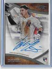 Tyler Austin # 064/300 RC On Card Auto 2017 Topps Tier One