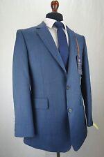 Mens Hammond & Co by Patrick Grant Navy Blue Wool Blend Suit 42R W36 L31 EZ288