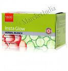 Vlcc Insta Glow Herbal Bleach With Cucumber & Rose Petal For Fairness 342gm