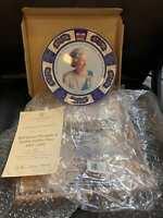 HM Queen Elizabeth II Golden Jubilee Plate #422 of 4000 Coalport Rare COA