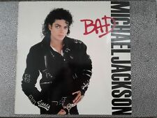 Michael Jackson LP Bad PROMO ORIGINAL USA 1987