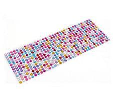 Small 3mm Scrapbook Phone Car Laptop Adhesive Crystal Rhinestone Bling Sticker C