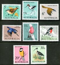 Australia 1966 Birds set of 8 Mint Unhinged