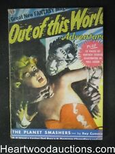 Out of this World July 1950  #1 Full  Color Joe Kubert golden age Comics