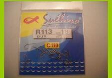 1 confezione 20  Ami Suehiro in acciaio 110 carbon serie r113 n 22 pesca mf bi6