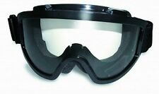 Motorcycle Goggles Clear Protective Fitover Fit Over RX Prescription Glasses NWT