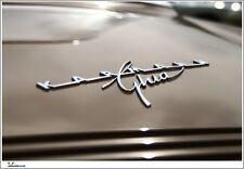 VW Karmann Ghia Badge Poster RARE Fabulous Volkswagen Limited Edition ART PRINT