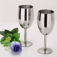 Stainless steel wine glasses Creative Cup Goblets Bar Restaurant 8106HC