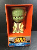 Star Wars Ceramic Goblet Figural Shaped Mug YODA NIB